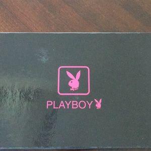 """Playboy"" travel documents holder"